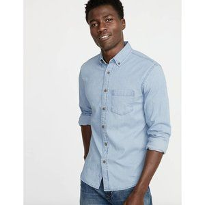 [Old Navy] NWT Slim Fit Chambray Everyday Shirt